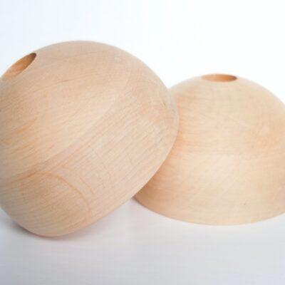 Drewniana półkulka